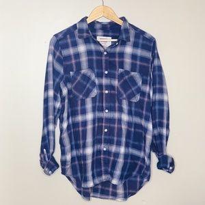 Mossimo Boyfriend Plaid Shirt